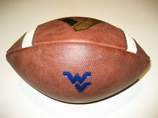 West Virginia Mountaineers GAME USED Nike Vapor One 1 Football UNIVERSITY - WVU