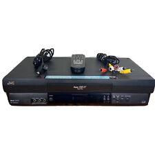 Jvc Hr-S2901U Super Vhs Vcr Player Recorder W/ Remote - Read Description