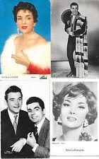 VEDETTES DES ANNEES 1960 ( 4 cp )