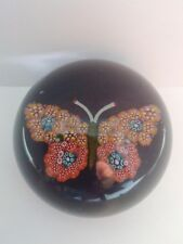 PAUL YSART SIGNED BUTTERFLY PAPERWEIGHT C 1930 /40S GENUINE AND AUTHENTICATED