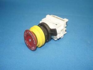 CEAG GHG4181101R0001 Non-illuminated Red Mushroom Push Button
