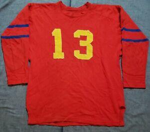 1920s Football Game Used Wool Durene Jersey Spalding