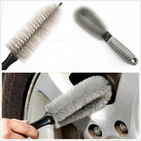 Portable Auto Truck Wheel Rim Tire Tyre Cleaning Washing Brush Tools Kit 2 In 1