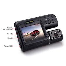Dual Lens Car Cam Recorder Dash Camera Cam Full HD 1080P &Rear View G-sensor DVR