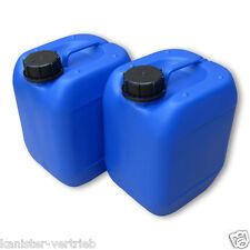 2 x 30 L blau Trinkwasserkanister Frischwasserkanister Getränkekanister dicht.
