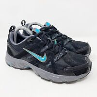 Nike Air Alvord 7 Trail Black Blue 354133-043 Running Shoes Women's Size 8.5