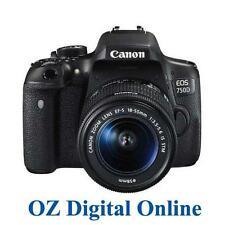 NEW Canon EOS 750D +18-55 STM Lens Kit 24.2MP WiFi DSLR Camera 1 Yr Au Wty