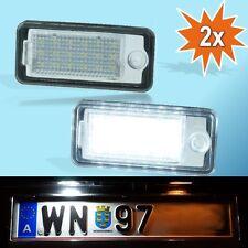 LED Kennzeichenbeleuchtung passend für Audi A3 8P A4 B6 B7 A5 Cabrio A6 4F Q7 PA