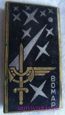 IN7543 - INSIGNE Base Opérationnelle Mobile Aéroportée, plat, guilloché argenté
