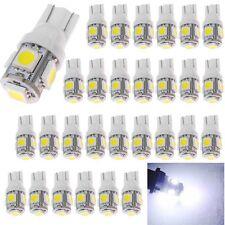 100Pcs Car T10 LED 5smd License Plate Light W5W 168 192 Bulbs White Super Bright