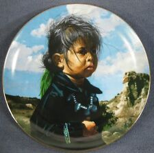 Navajo Little One The Proud Nation Collector Plate Ray Swanson with Coa