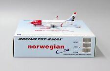 Norwegian B737-8MAX Reg: LN-BKA JC Wings 1:400 Diecast Model XX4151