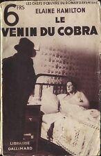 Chefs d'Oeuvre du Roman d'Aventure - Elaine Hamilton - Le venin du cobra - s.d.