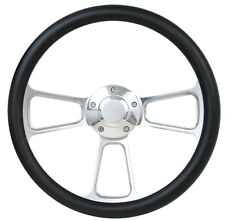 1984-1988 - Ford Cars - Polished Billet & Black Steering Wheel & Horn