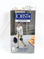 Jobst Support Wear Womens Compression Socks 8-15 mmHg Size XS Black Knee CT