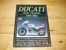Ducati 1978-1982 - Gold Portfolio  Brooklands Road Test Book.
