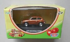 1975 HONDA CIVIC MOTORMAX FRESH CHERRIES 1:87 HO SCALE DIE-CAST VEHICLE