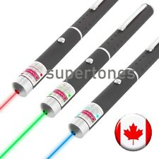 Set of 3 pcs 5mW Laser Pointer Blue Green Red 405 523 605nm Light Pen Violet