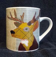 'Beasties' Range Stag Mug - A Carola van Dyke design.
