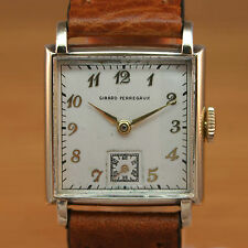 1940s GIRARD PERREGAUX Swiss Vintage Watch / Gents Gold Filled / JUST SERVICED