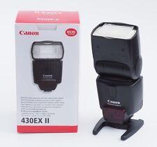 Canon Speedlite 430ex II Flash, NOUVEAU/Canon Electronic Flash-New, unused