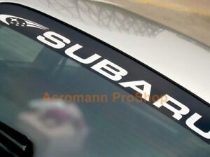 "53"" Windshield sun strip visor decal sticker for wrc wrx legacy forester brz GVB"