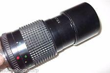 Minolta MD Tele Rokker-X Zoom 35mm SLR Camera Lens 1:4 200mm - FREE SHIPPING