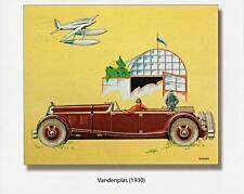 Print.  1930 Vandenplas Torpedo (Belgian)