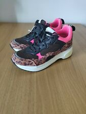 Replay Whiteville Womens Pink Leopard Print Trainers Shoes UK 5 EU 38 RRP £89