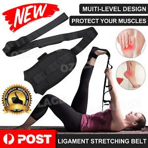 Yoga Ligament Stretching Belt Strap Rehabilitation Training Foot Ankle Corrector