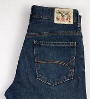 Tommy Hilfiger Hommes Wilson Wiw Whistler Worn Jean Taille W34 L32 ALZ230