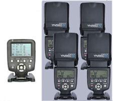 Yongnuo YN560-TX C  Wireless Flash Controller for Canon + 4 Pcs YN-560IV Flash