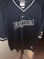 Vintage Nike MLB New York Yankees Pullover Men's Large Navy Blue
