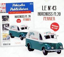 1/43 - IXO -  HOTCHKISS PL20  PUB * PERRIER *  TOUR DE FRANCE * NOUVELLE VERSION