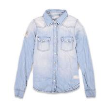 Odd Molly camisa señora camisa tiempo libre camisa talla 0 (de 34) 551 blusa blouse azul 90426