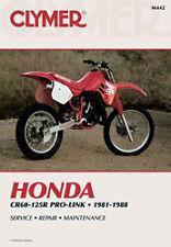 CLYMER REPAIR MANUAL Fits: Honda CR60R,CR125R,CR80R