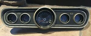 1966  Ford Mustang Instrument cluster