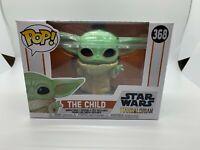 Funko Pop! Star Wars The Mandalorian Baby Yoda The Child Mint w/Protector
