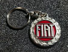Fiat Schlüsselanhänger Logo 70er Jahre - Maße Emblem 36mm