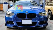 SOTTO PARAURTI ANTERIORE BMW SERIE 1 F20 F21 2011-2015 SPOILER LOOK SPORTIVO M