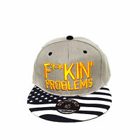 F**king Problems Issues Sick Bboy Adjustable Unisex Baseball Hat Snapback Cap