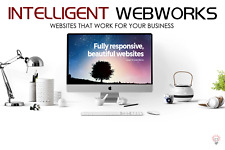 Mobile-friendly Website, SEO, Plus 12 months of free hosting & Free Domain Name