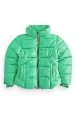 NEXT Girls Green Padded Winter Jacket Size 9-10 Years/140 cm New Condition