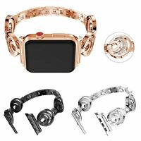 Glitter Metal Bracelet for Apple Watch Series 5 4 3 2 Band 40/44mm Diamond Strap