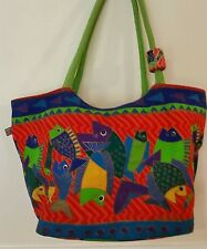 LAUREL BURCH LARGE TOTE TRAVEL  BAG WITH LOTS OF STORAGE