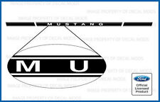 Ford Mustang Rocker Panel Door Side Stripes Stickers 2005 2006 2007 2008 2009 RJ