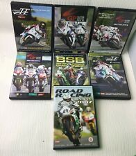 Motorbiking Superbiking DVD Bundle Set Collection x 7 TT GP Road Racing BSB W727