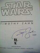 Timothy Zahn STAR WARS SURVIVOR'S QUEST 1ST US hc SIGNED