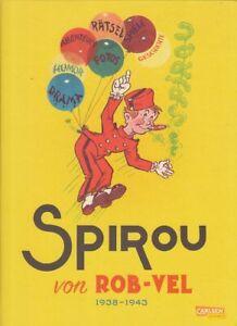 Spirou Classic Gesamtausgabe Hardcover Comic Nr. 1 von Rob Vel