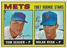 NOLAN RYAN TOM SEAVER 1967 ROOKIE STARS ACEO ART CARD ## BUY 5 GET 1 FREE ###